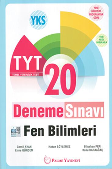 resm YKS TYT FEN BİLİMLERİ 20 DENEME SINAVI