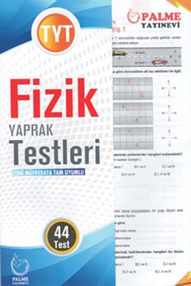 Resim YKS TYT FİZİK YAPRAK TEST ( 44 TEST )