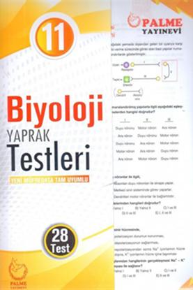 Resim 11.SINIF BİYOLOJİ YAPRAK TEST ( 28 TEST )