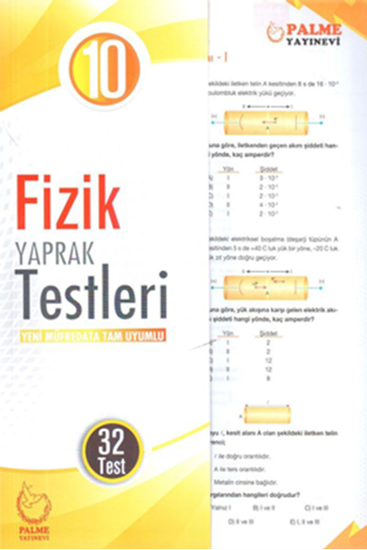 resm 10.SINIF FİZİK YAPRAK TEST ( 32 TEST )