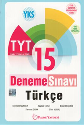 Resim YKS TYT TÜRKÇE 15 DENEM SINAVI