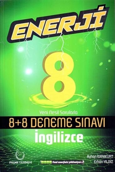 resm 8.SINIF ENERJİ İNGİLİZCE 8+8 DENEME