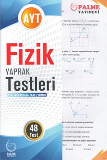 resm AYT FİZİK YAPRAK TEST ( 48 TEST )