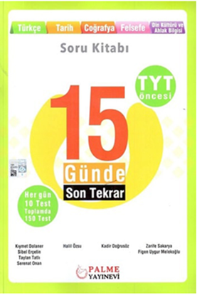 Resim TYT 15 GÜNDE SON TEKRAR SÖZEL