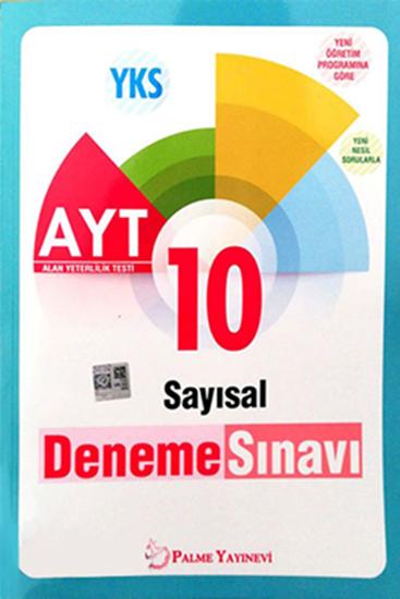 resm YKS AYT SAYISAL 10 DENEME SINAVI