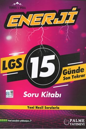 Resim 8.SINIF ENERJİ LGS 15 GÜNDE SON TEKRAR SORU KİTABI