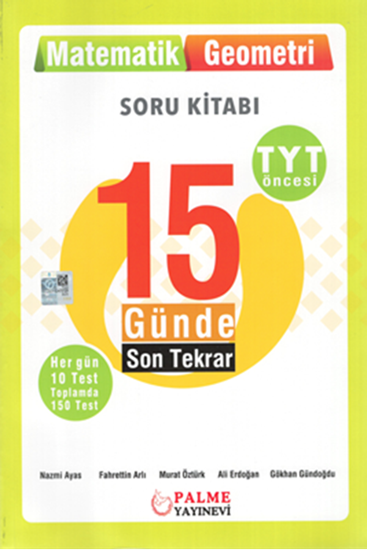 resm YKS TYT 15 GÜN.SON TEKRAR MATEMATİK - GEOM.