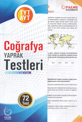 Resim TYT-AYT COĞRAFYA YAPRAK TEST (72 TEST)