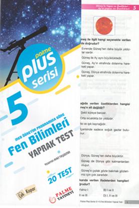 Resim 5.SINIF FEN BİLİMLERİ YAPRAK TEST (20 TEST )
