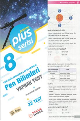 Resim 8.SINIF FEN BİLİMLERİ YAPRAK TEST (32 TEST )