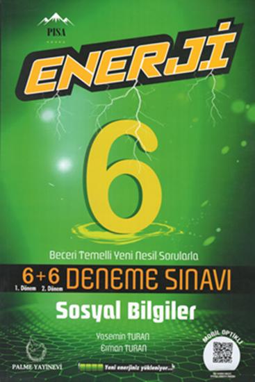 resm 6.Sınıf Enerji Sosyal Bilgiler 6+6 Deneme Sınavı