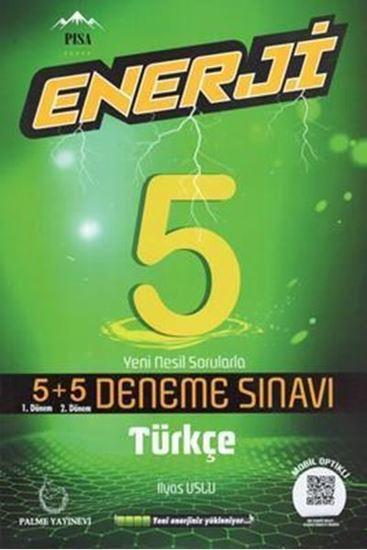 resm 5.Sınıf Enerji Türkçe 5+5 Deneme Sınavı