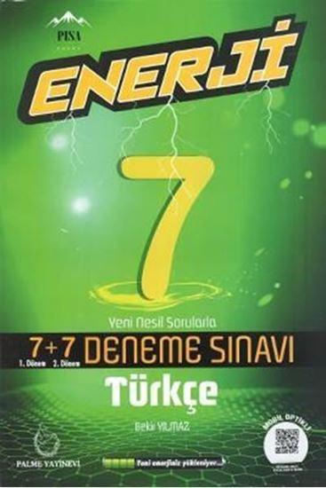 resm 7. Sınıf Enerji Türkçe 7+7 Deneme Sınavı