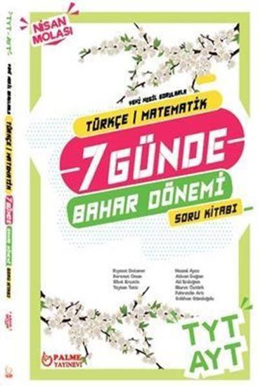 resm TYT AYT 7 Günde Türkçe - Matematik Bahar Dönemi Soru Kitabı