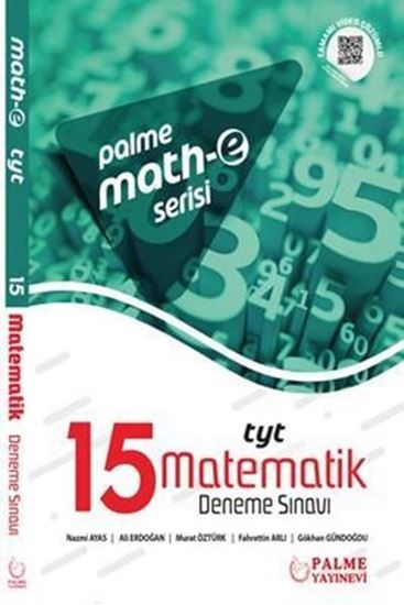 resm Math-e serisi TYT Matematik 15 Deneme Sınavı