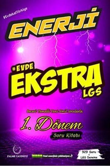 resm Enerji Evde Ekstra LGS 1. Dönem Soru Kitabı
