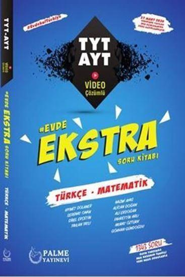 resm Evde Ekstra TYT - AYT Türkçe-Matematik Soru Kitabı