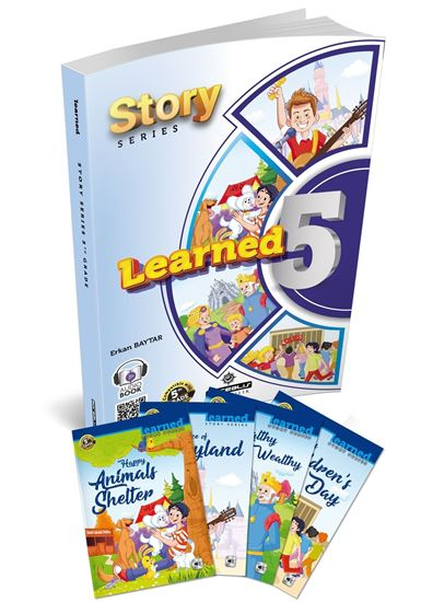 resm Learned English 5 Story Series