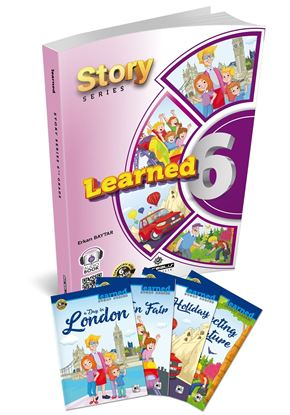 Resim Learned English 6 Story Series