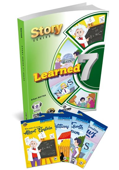 resm Learned English 7 Story Series