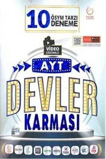 resm AYT DEVLER KARMASI 10 DENEME SINAVI