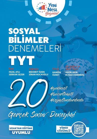 resm TYT SOSYAL BİLİMLER 20 DENEME SINAVI
