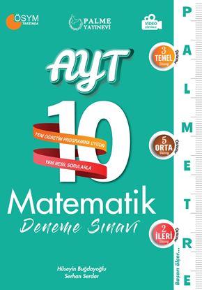 Resim AYT 10 MATEMATİK DENEME SINAVI ( PALMETRE SERİSİ )