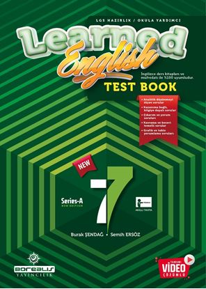 Resim BOREALIS 7.SINIF LEARNED TEST BOOK