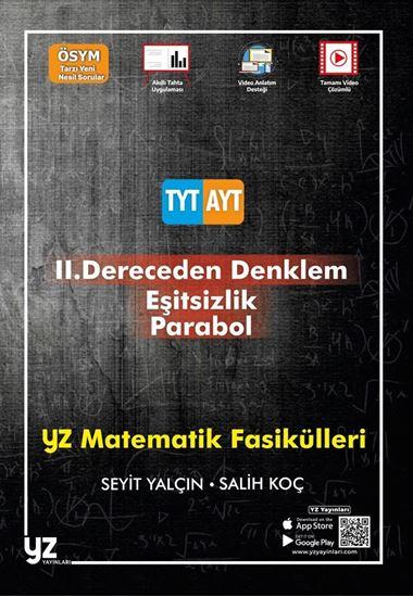 resm YZ TYT-AYT MATEMATİK FASİKÜLLERİ-2.DERECEDEN DENKLEM-EŞİTSİZLİK-PARABOL
